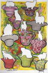 chats pots   21x29  encre acrylique collage papier sbd 27 4   05